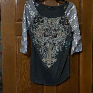 Angels and Diamonds Top